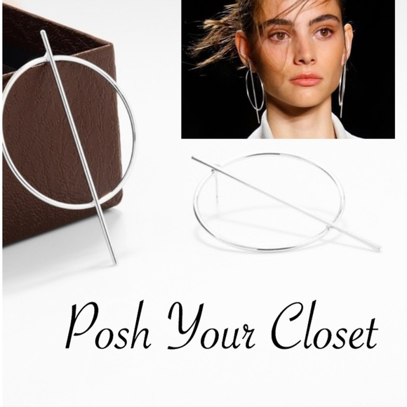 Jewelry - Oversized Circular Earrings